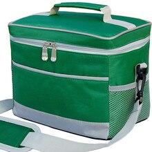 suitcase Cheap Large Volume  N Color Thermal Cooler Bag Fashion valiz 2-layers Picnic waterproof liner aluminum foil Food Bags