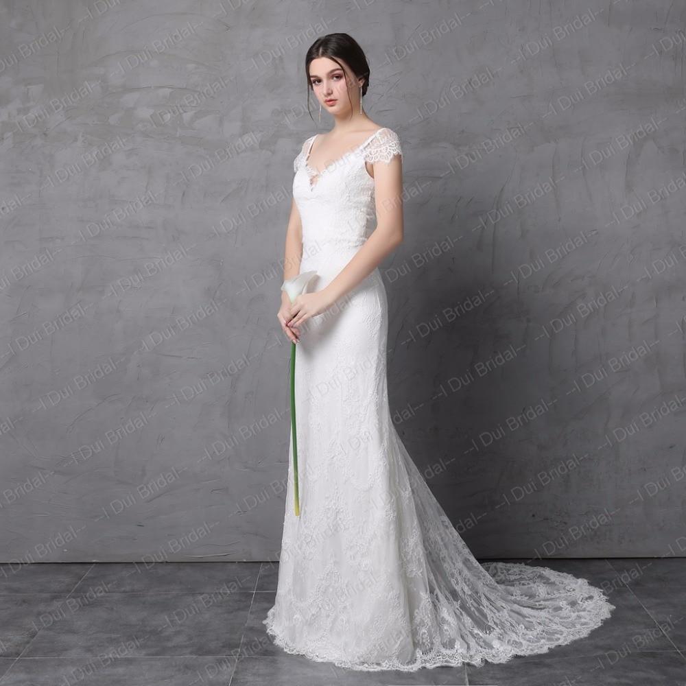 Hermosa Vestidos De Novia De Estilo Vaina Ideas Ornamento ...