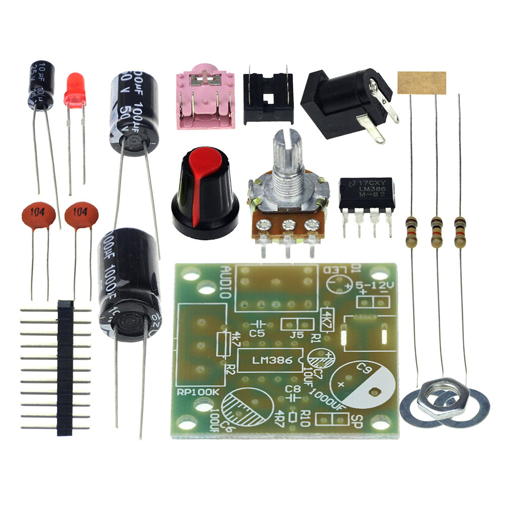 Detail Feedback Questions About Smart Electronic Diy Kit Lm386 Super Simple Small Audio Amplifier Circuit Diagram Using Ic Mini Suite Trousse Amplificador Module Board 35mm 3 12v