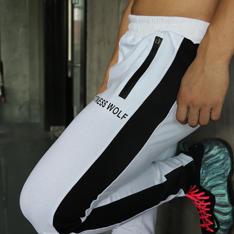 2018 Sport Pants Men Zipper Pocket Jogging Pants Men Running Pants Football  Soccer Pants Breathable Homme 9d9b749bc9045