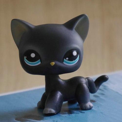 Play-Toy Cat-Kitty Action-Figure Best-Gift Mini Children 2-Preschool Deep-Grey-Style