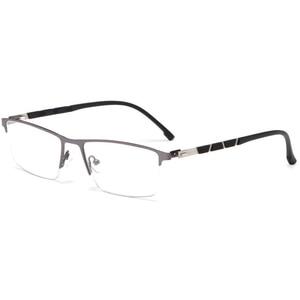 Image 5 - Reven Jate P9859 Ottico di Affari Telaio in Titanio Occhiali da Vista per Occhiali Semi Rim Occhiali con 4 Colori Facoltativi