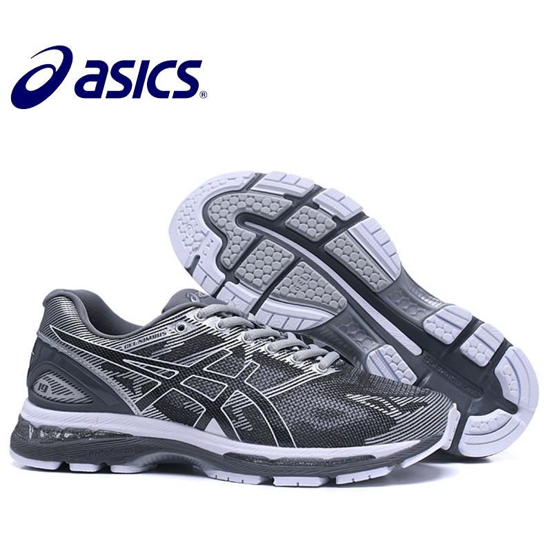 ASICS GEL-KAYANO 19 Original Nova Chegada Sapatilhas Almofada Confortável  Ao Ar Livre calçados esportivos 4b6897025bb05