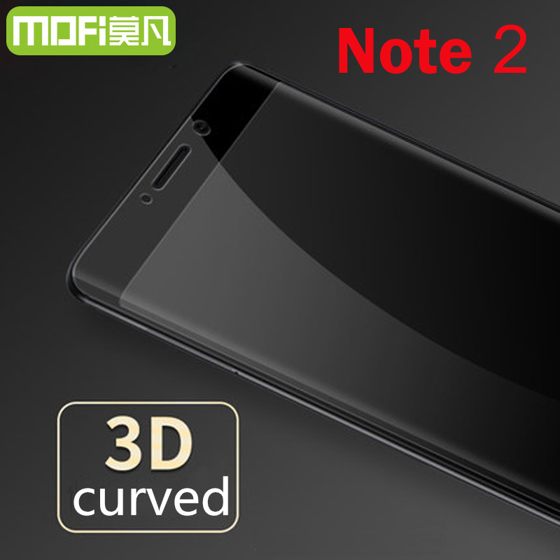 xiaomi mi note 2 glass Mofi original 3d edge full cover xiaomi note 2 screen protector xiaomi note2 5.7