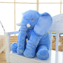 60 cm New Style Colorful Elephant Plush Toys Elephant pillow Baby bed Cushion stuffed animals doll