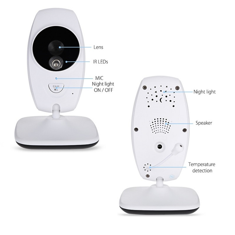 7 Inch Wireless Baby Monitor With 720P HD Screen Camera To Check Your Baby Monitor Screen 10
