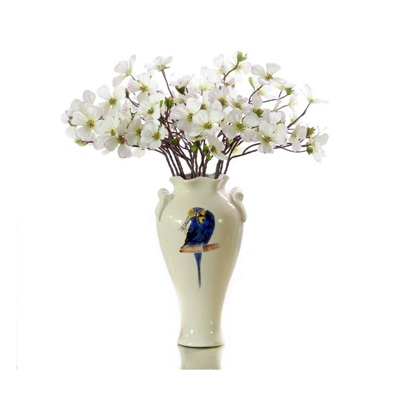 INDIGO Dogwood Flower (8pc Flowers/Stem) White Daisy Beautiful ...