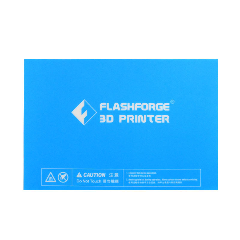 232*154mm Blue Heated Bed Tape Print Sticker Build Plate Tape For Flashforge Creator Pro /Dreamer 3D Printer