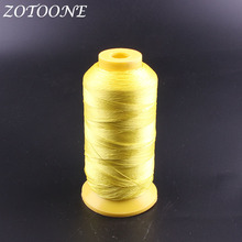 ZOTOONE Yellow Machine Embroidery Thread Sewing Polyester For Jeans Hand Craft Patch Steering-wheel Supplies E