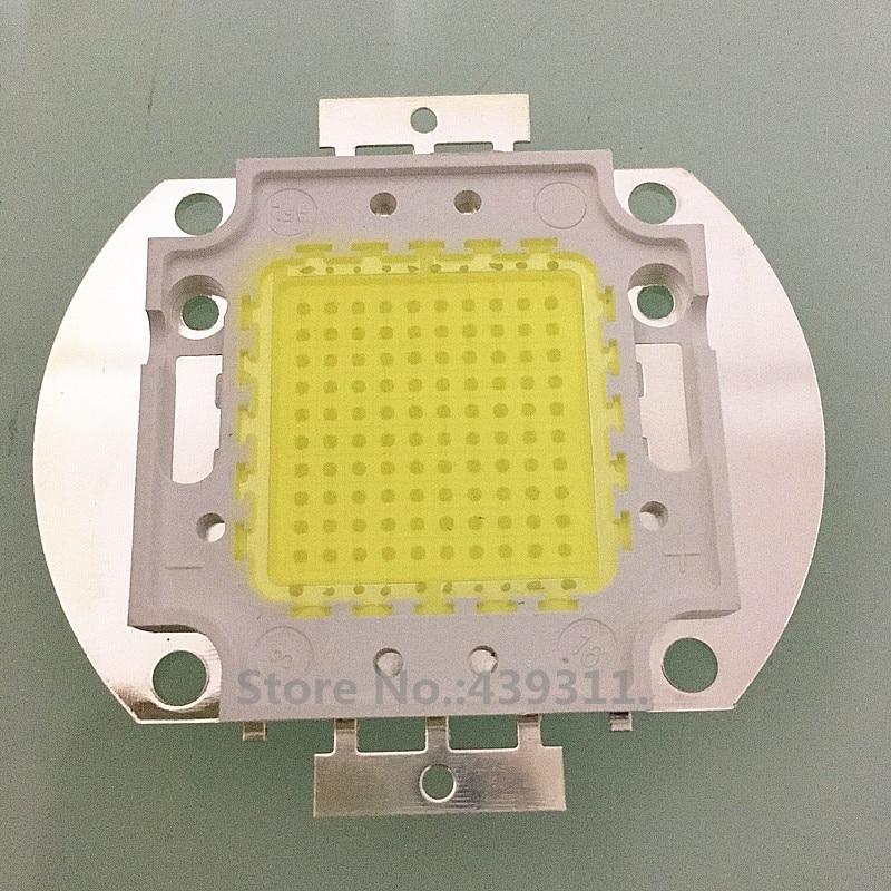 5pcs/lot 100W LED Light White/Warm White High power Lamp floodlight 3000-3500mA 32-34V 10000-11000LM 35mil Chips Free shipping