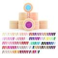 12pcs/set CANNI New 141 Color Nail Art Gel Paint UV Gel False Full French Tips Salon Set 5ml