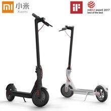 Xiaomi mijia M365 patinete трамвай скутер Лонгборд скейтборд Ховерборд 2 колеса, Электрический скутер 30 км пробег с APP