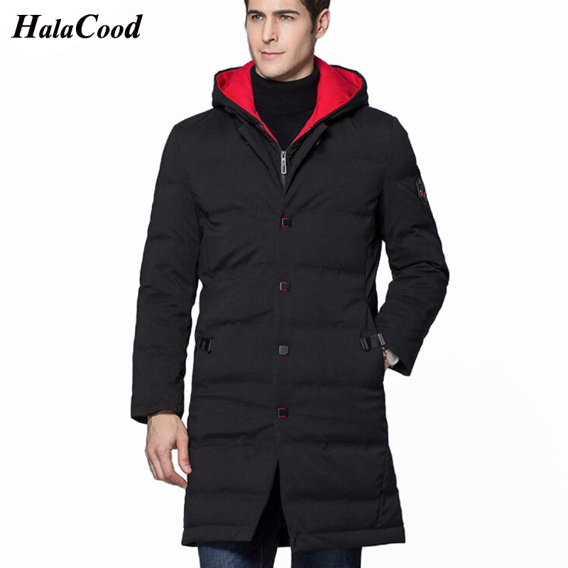2018 Fashion Brand Clothing Winter Warm   Coat   Man Bio   Down   Jacket Hood Casual Outerwear Men's Thick Leisure Plus Size   Down     Coats