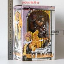 New Arrival Mashima Hiro komiks Anime Fairy Tail eteryczny Natsu Dragneel ogień pięść 9 cal figurka zabawki figurkowe