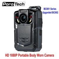 1080 P Портативный ношения на теле камеры видео камера DVR карман видеомагнитофон Базовая версия модернизированная модель BC002 Запись 12 часов
