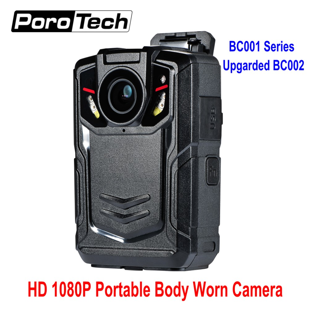 1080P Portable body worn camera video DVR camera Pocket Video recorder basic version upgraded model BC002 Recording 12 Hours