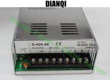 400 Вт 48 В 8.3A Один Выход Импульсный Источник питания для LED полосы света ПЕРЕМЕННОГО ТОКА в постоянный СВЕТОДИОДНЫЙ Драйвер мощность suply 400 Вт S-400-48