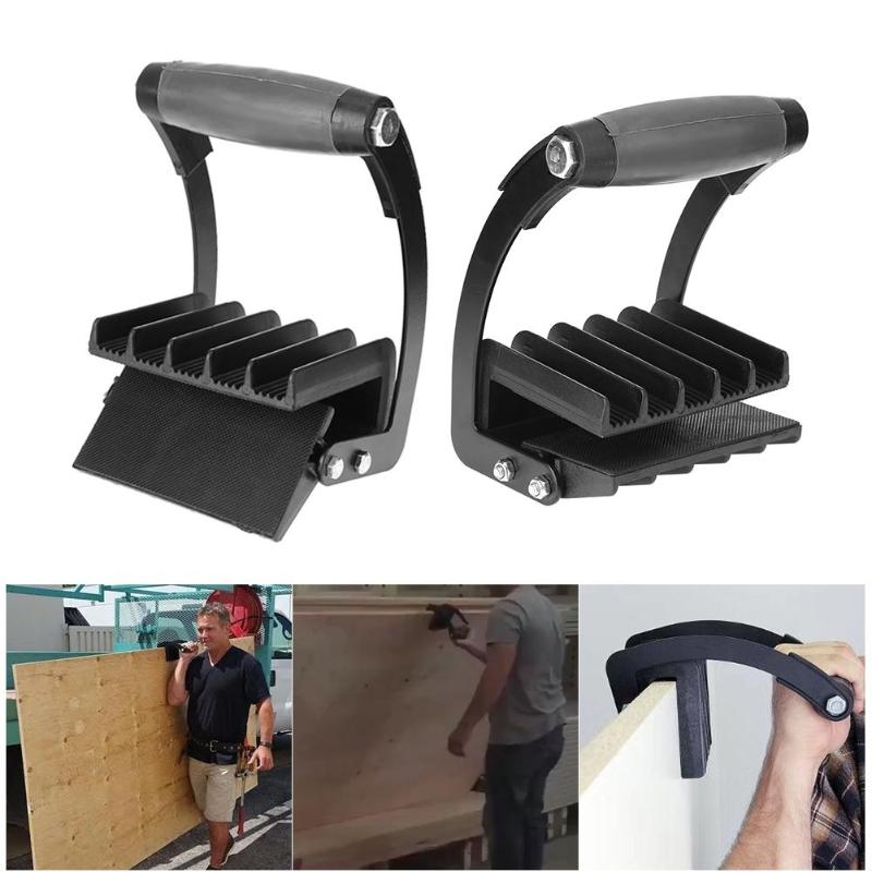 Easy Gorilla Gripper Panel Labor Saving Handy Grip Board Lifter Plywood Wood Panel Carrier Free Hand Dropshipping Furniture Tool g057vn01 v2 5 7 inch industrial lcd new