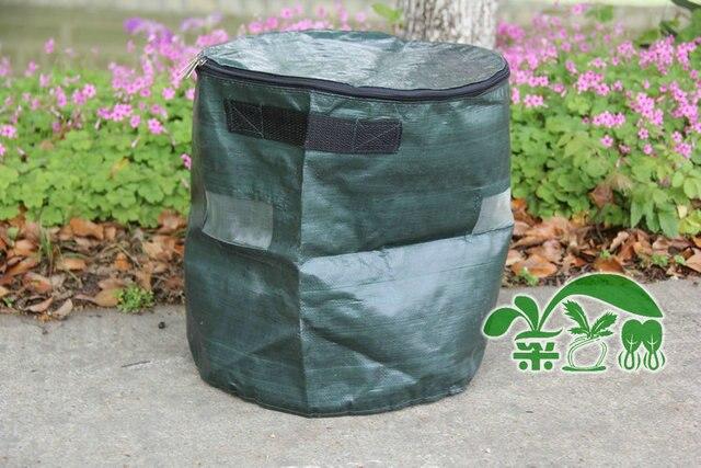 30Lfermentation earthworm manure organic fertilizer bags of homemade compost bag fertilizer bags waterproof melon leaf