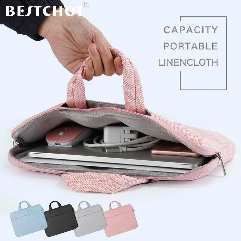 Laptop Bag for Macbook air 11 13 Pro 13 15 case Multi-use laptop Sleeve Bag Case for Apple Macbook 13.3