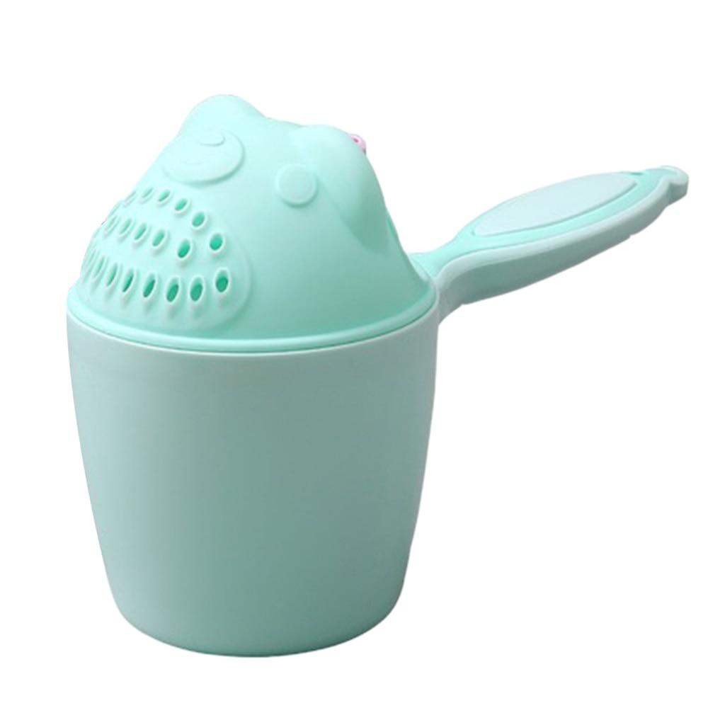 10CM Baby Bath Cup Water Spraying Toy Scoop Ladles Bathing Cartoon Water Playing Wash Bath Play Toys