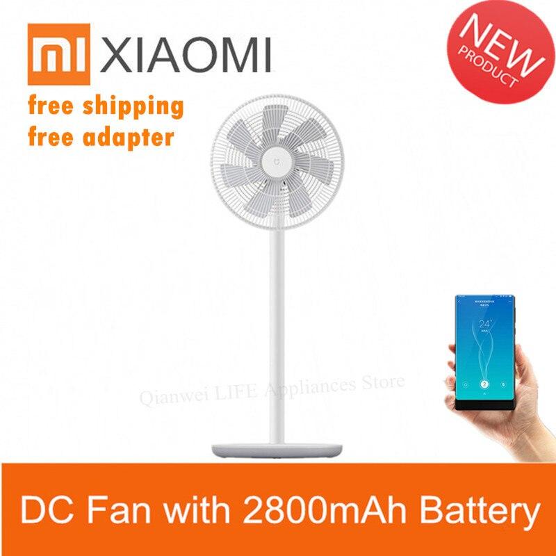 Xiaomi Smartmi ventilateur de sol debout 2s 2 DC ventilateur sans fil de vent naturel maison avec 2800mAh batterie APP climatiseur télécommandé