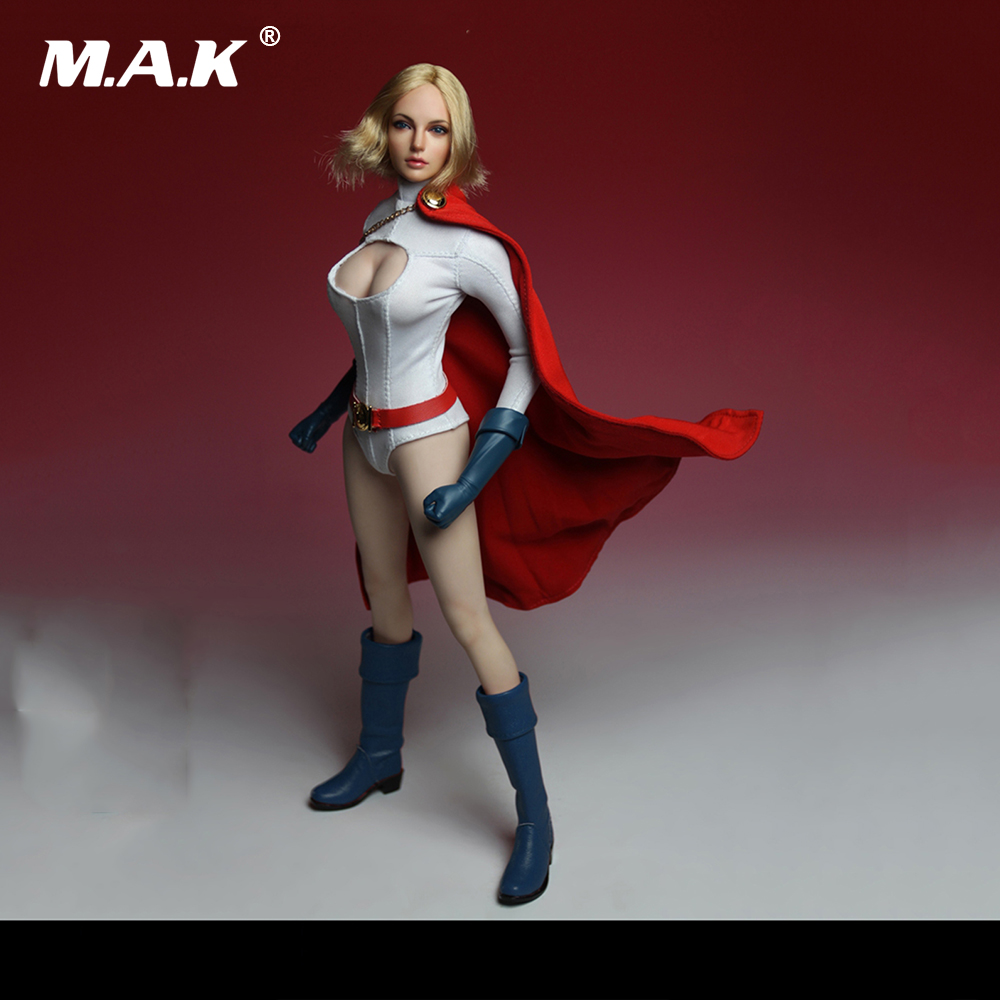 1 6 Scale Superwoman Head Sculpt and Clothes Models for 12 Inches Action Figures Dolls Accessories