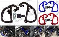 Waase ограждение двигателя Краш бары протектор Сталь для YAMAHA MT 07 FZ 07 MT07 FZ07 RM04 2014 2015 2016