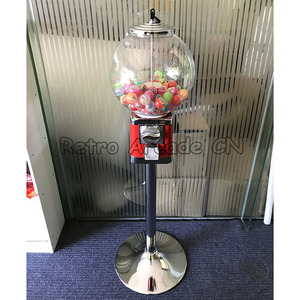 Arcade Coin Operated Slot Machine Toys Vending Cabinet Candy Capsule Vending Machine Toy Vendor for Arcade Cabinet / Market