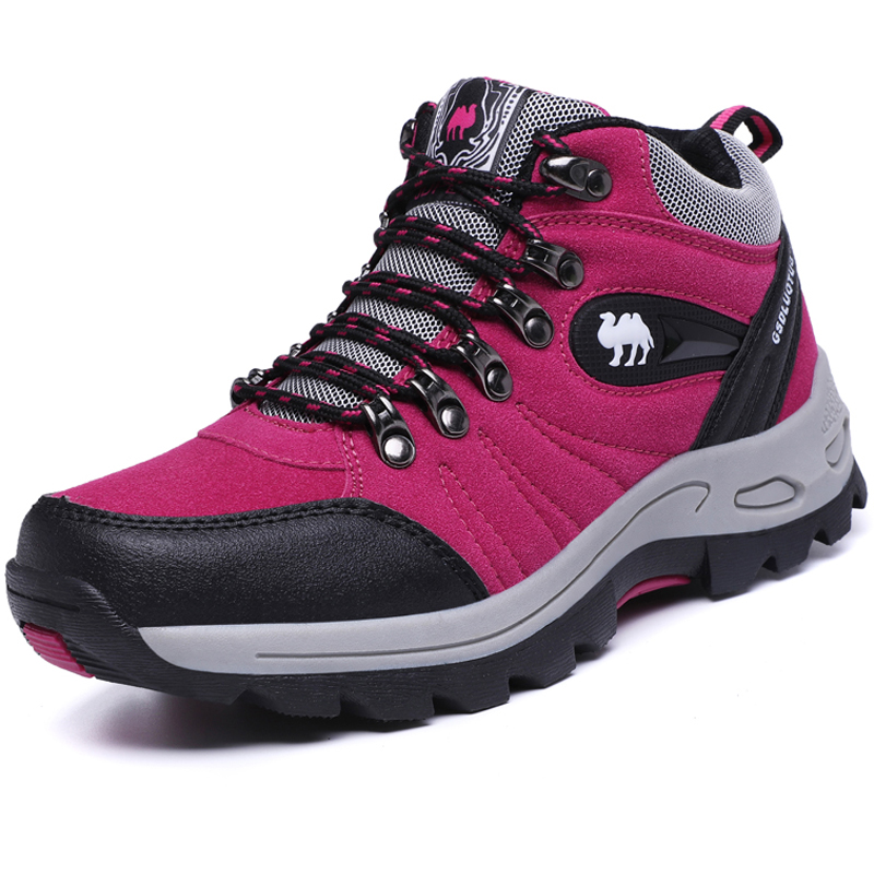 Brand Women Hiking Shoes High Quality Outdoor Sneakers Footwear Zapatos Mujer Female Camping Mountain Shoes Women Walking Sports