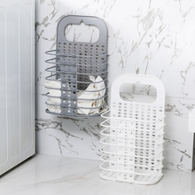Folding Laundry Basket Storage Clothes 47X28X17CM Free Shipping Dirty drop 2019