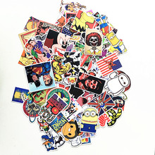 150Pcs Stickers car styling home decor Doodle laptop motorcycle bike travel case decal Car accessories Car
