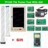 ТВ 160 6 го 7 го поколения LVDS Turn VGA конвертер с ЖК дисплеем/светодиодный ТВ тестер материнской платы инструмент мультиметр/скребок