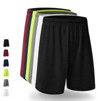Mens Running Shorts Quick Dry Polyester Loose Basketball Football Short Man Fitness Gym Training Sport Shorts