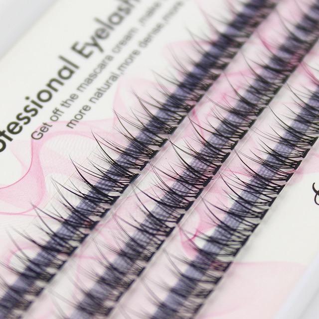 Professional silk eyelashes extension Fashion dovetail fly eyelash false eye lashes 2