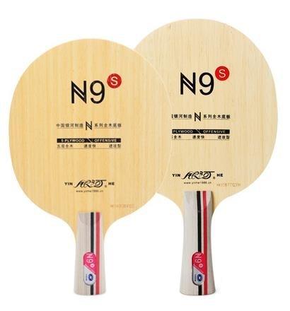 Yinhe N-9 N-9S N9S Wooden (N 9, N9) Attack+Loop OFF Table Tennis Blade for PingPong Racket yinhe milky way galaxy n9s table tennis pingpong blade long shakehand fl