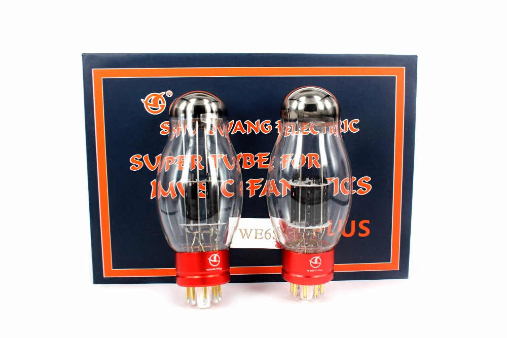 Newest WE6SL7 PLUS Vacuum Tube HiFi Shuguang DIY Replace Tube Amplifier For Audio HIFI Factory Tested Matched 1Pair shuguang 50years treasures tube matched cv181z 6sn7 2pc