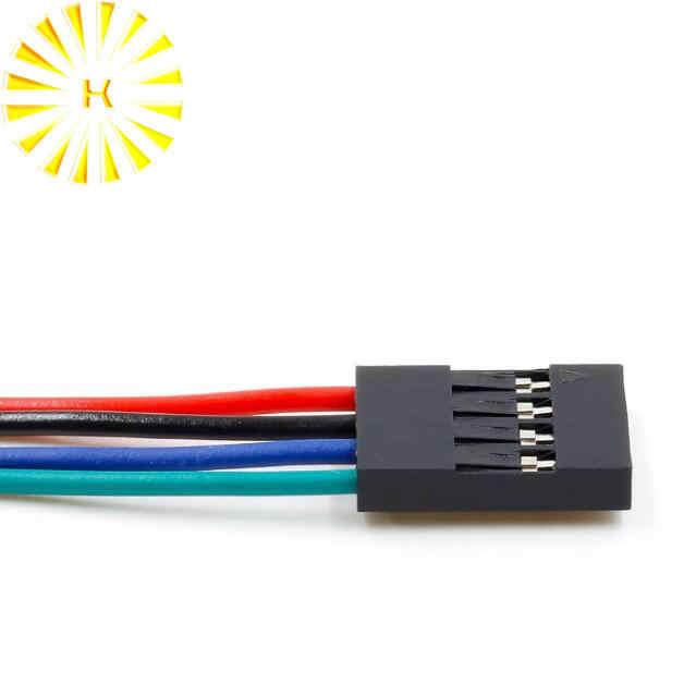 4Pin 70 センチメートルケーブルセット女性-女性 Arduino 3D プリンタ Reprap コネクタ