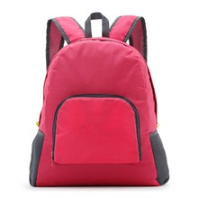 2017 Lightweight Multifunction Waterproof Backpack Men/Women Casual Travel Backpack Leisure Folding Shoulder Bag tailor-madeLogo