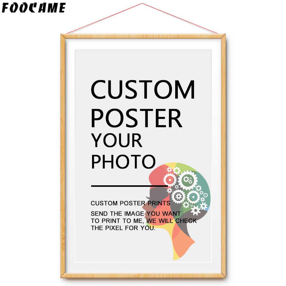 FOOCAME сексуальные девушки аниме наряд горничной Искусство Шелковый Плакаты и печатает живопись декоративные настенные фотографии для Гостиная Украшения в спальню