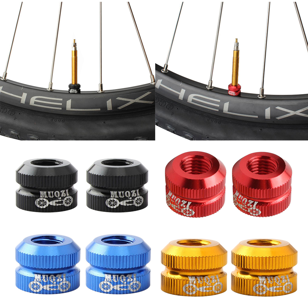 Road Bike Brake Nuts For Presta Bolts Mountain Bicycle Valve Vacuum Tire Nozzle