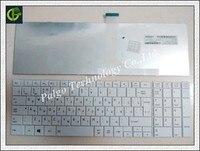 New Russian Keyboard For TOSHIBA SATELLITE C850 C855D C850D C855 RU White Laptop Keyboard