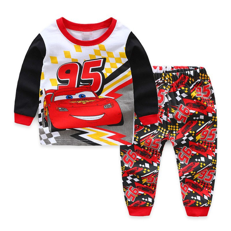 Kids Boys Pyjamas Boy   Pajamas     Sets   Kids Sleepwear Boys Long Sleeve   Pajama   Baby Pjs Children 7years Kids Clothes 2-7Y