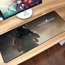 Gaming MousePad XXL CS GO Print Overlock Edge