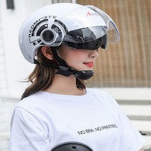 unisex double lenses motorcycle helmet capacetes de motociclista motosiklet for scooter motocicleta 4colors