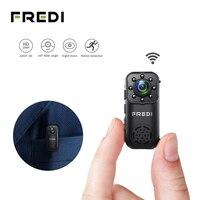 FREDI IP Camera 2.0MP 1080P HD Wireless Mini WIFI Camera P2P Infrared Night Vision Security Camera Mini Surveillance CCTV Camera