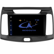"BEIDOUYH 9"" Android Car gps for Hyundai Elantra 2013-2016 Support Mirror link/GPS navigation/Bluetooth/RDS Radio/DVR/rear view"