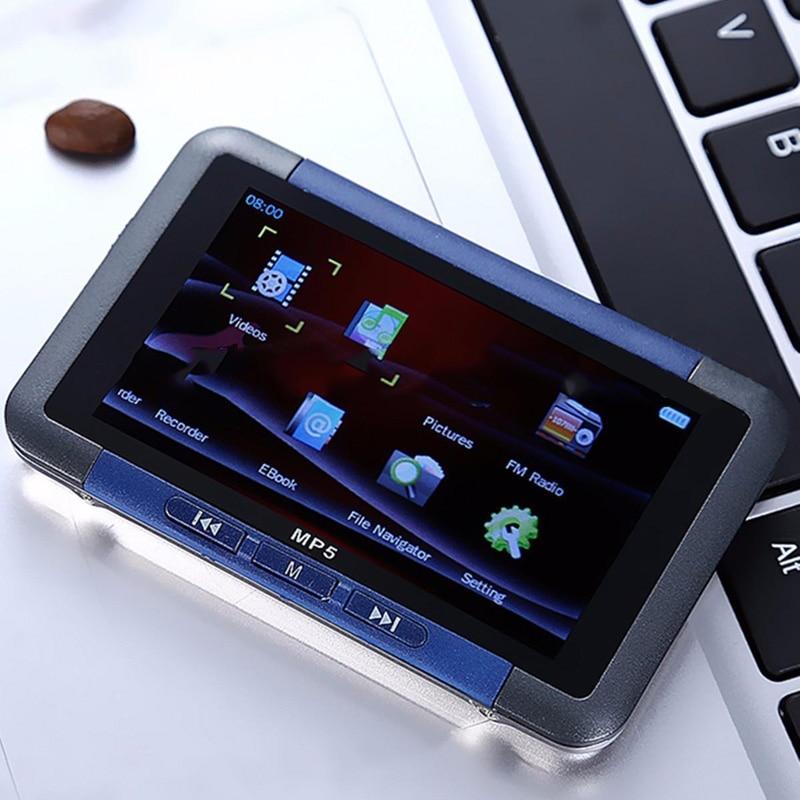 цена на 2017 NEW 4GB 8GB Slim MP3 MP4 MP5 Music Player With 3 LCD Screen FM Radio Video Movie