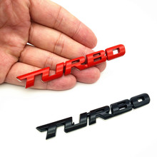 CDIY 3D Metal TURBO Emblem Sticker Body Rear Tailgate Badge Rear Trunk Car Badge For Audi BMW Ford VW skoda Car Styling dsycar 1 pair 3d metal turbo car sticker emblem badge for jeep bmw ford volvo nissan mazda audi vw honda toyota lada chevrolet