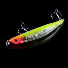 1PCS 9cm 7.5g Rushed Soft Bait Pesca Carp 4#Hooks Bent Minnow Bass Hard Fishing Lures Bait Plastic Tackle